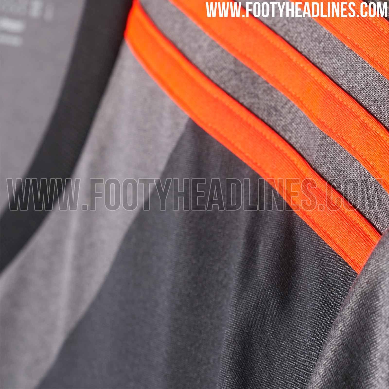 96f2adf615 E o modelo mostra um uniforme em tons de cinza e preto