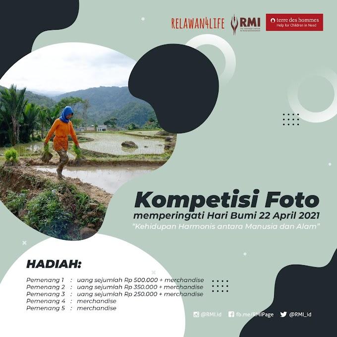 Kompetisi Foto Memperingati Hari Bumi 22 April 2021