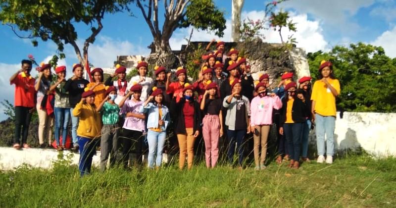 DPC PMKRI Cabang Saumlaki Lantik Puluhan Anggota Baru