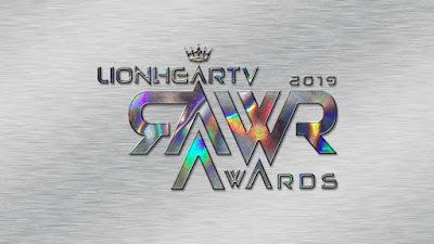RAWR Awards 2019 is on, voting is set till November 2!