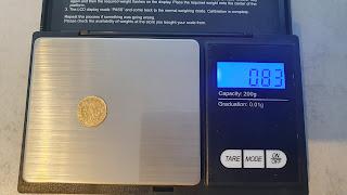 Poltina 1756 poids 0.8g