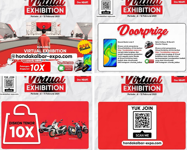 Virtual Exhibition oleh Astra Motor Kalbar