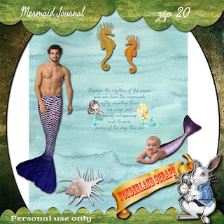 Last of Mermaid Journal freebie