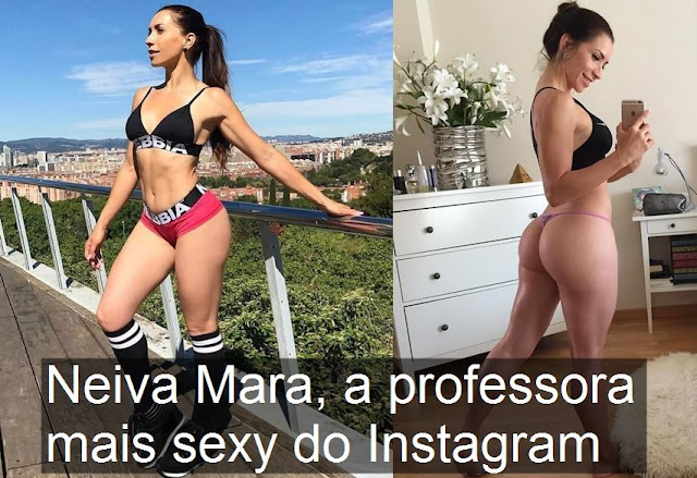 Neiva Mara, a professora mais sexy do Instagram