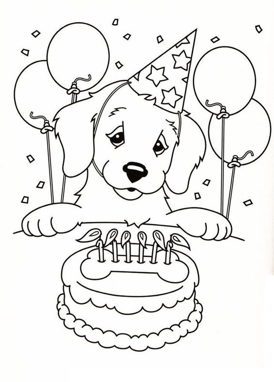 Dogs coloring pages 11