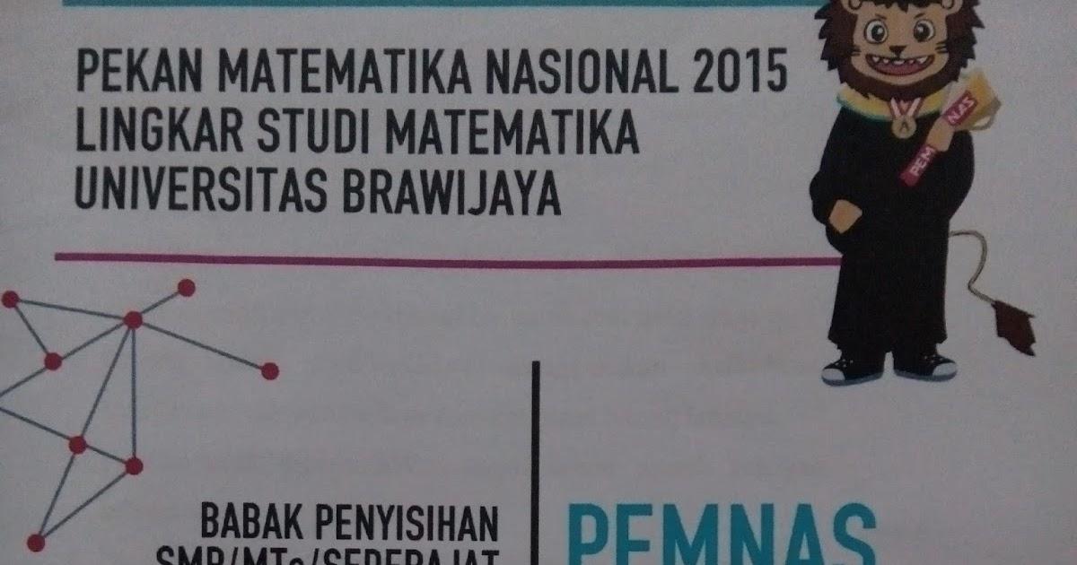 Math Star Indonesia Pemnas 2015 Univ Brawijaya