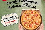 Promo Pizza HUT Beli 1 Gratis 1 Reguler Pan Pizza 15 - 23 Mei 2020
