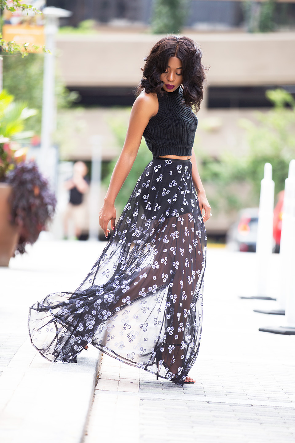Asos sheer maxi skirt, www.jadore-fashion.com
