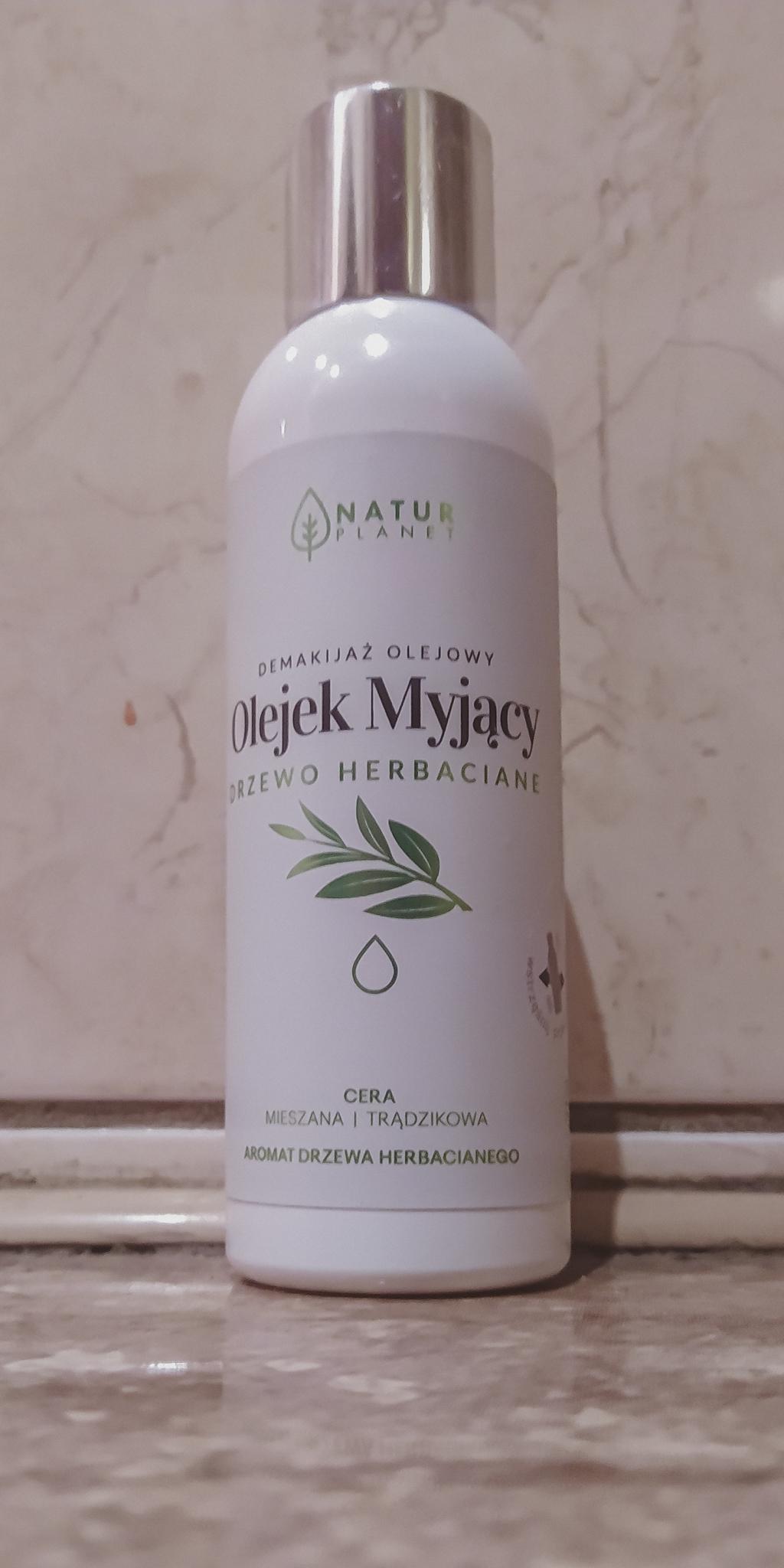 Natur Planet Olejek Myjący Drzewo Herbaciane - naturalny demakijaż. Recenzja