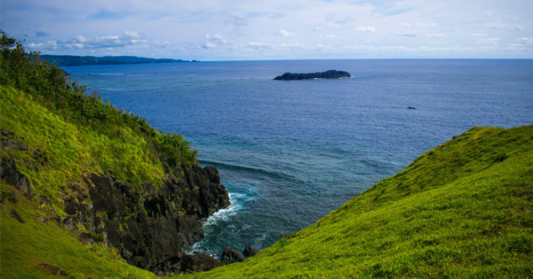 Binurong Point in Catanduanes, Bicol