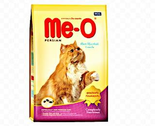 Makanan kucing persia Me-o