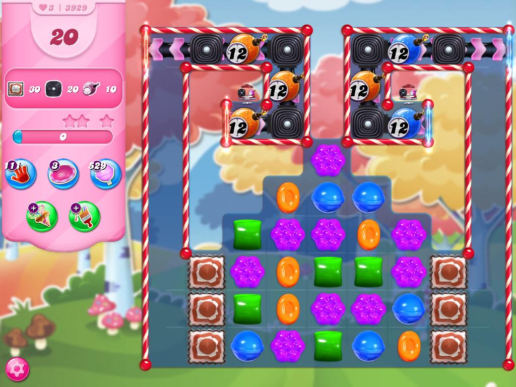 Candy Crush Saga level 3929