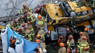 9 killed after building collapses in South Korea