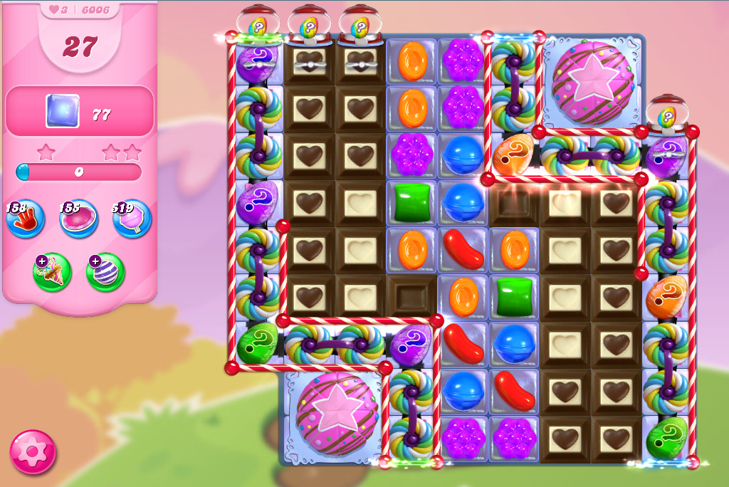 Candy Crush Saga level 6006