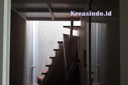 Mezzanine Besi pemasangan di Rumah Bpk Irwan Kristiawan Summarecon Serpong Medang Tangerang