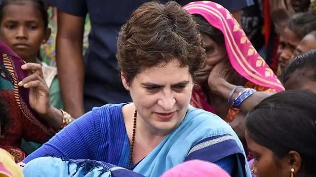 प्रियंका गांधी ने प्रवासी भाई-बहनों से किया वादा, कहा सेवाभाव से करते रहेंगे जनता की मदद