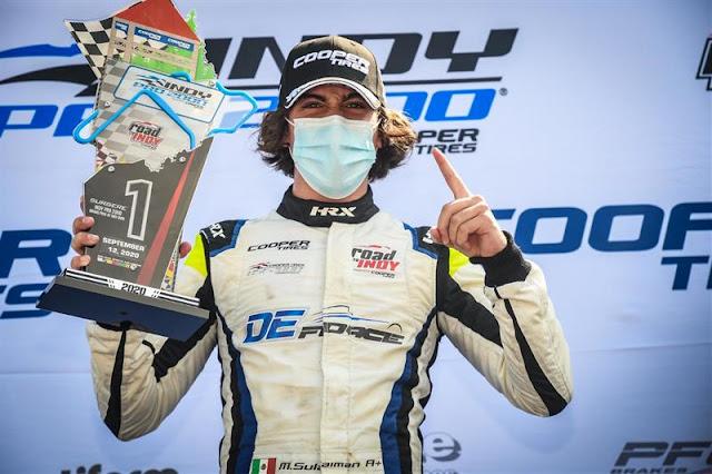 piloto vencedor Indy Pro 2000