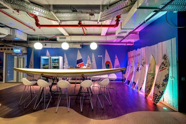 The New Google Office in Tel Aviv
