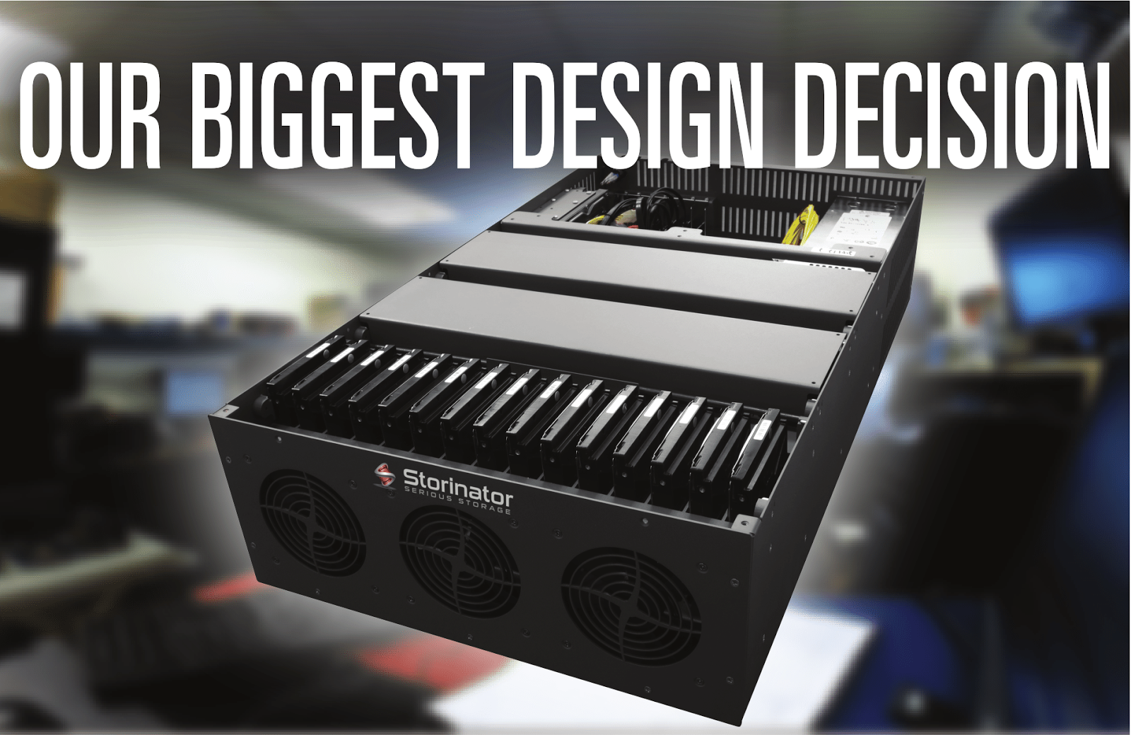45 Drives: Our Biggest Design Decision - Direct Wired or