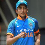 भारतीय क्रिकेट टीम के युवा बल्लेबाज पृथ्वी शॉ को डोप टेस्ट में फेल होने के कारण बीसीसीआई ने 15 नवंबर तक के लिए बैन लगाया है