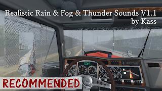 ats 1.31, ats 1.32, ats realistic fog, ats realistic rain, ats realistic thunder sound, ats mods, ats realistic mods, ats weather mod, american truck simulator 2 mods, recommendedmodsats