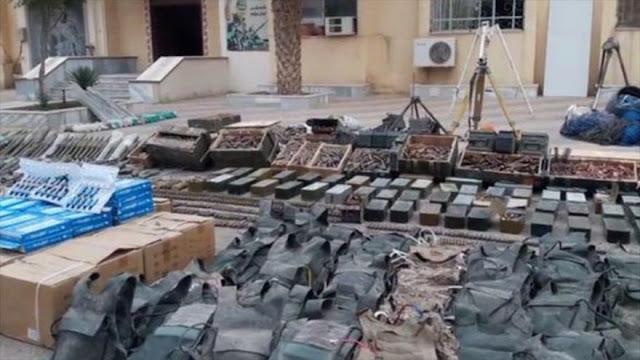 Siria halla armas de EEUU en poder de Daesh en Deir Ezzor