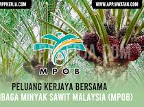 Jawatan Kosong di Lembaga Minyak Sawit Malaysia (MPOB)