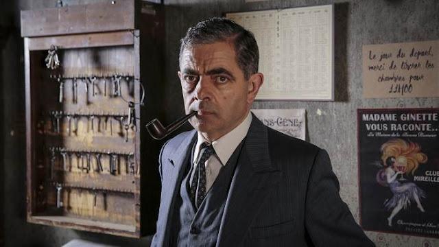 """A la une de PipeGazette... (2nd opus Atkinson : """"Maigret & son mort"""") Maigret"""