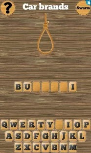 One of the best English puzzle games for Android smart phones and tablet, Hangman 1000