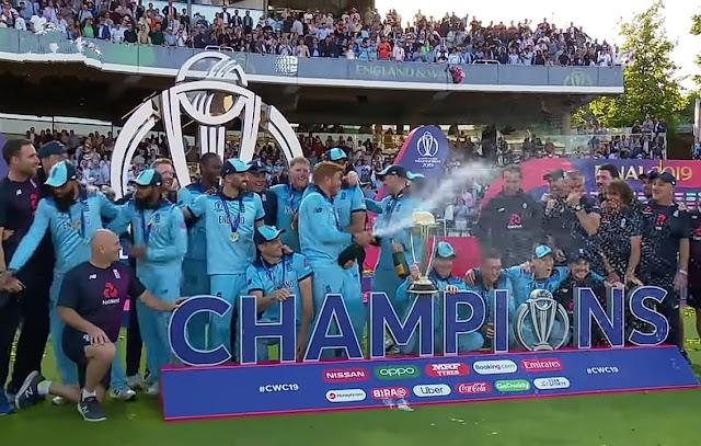 ICC World Cup 2019 Winner.
