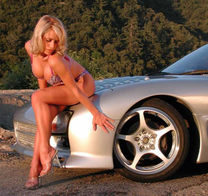 Sports Cars: Girls With Car