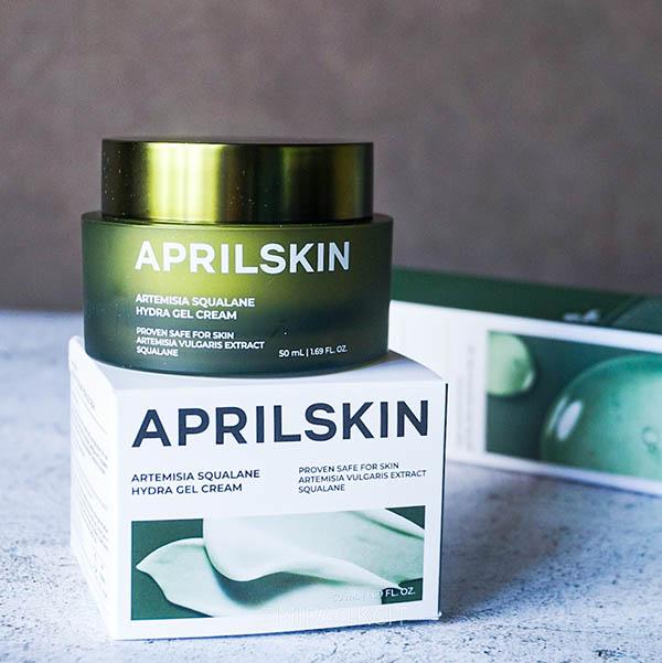 Aprilskin Artemisia Squalane Hydra Gel Cream Review