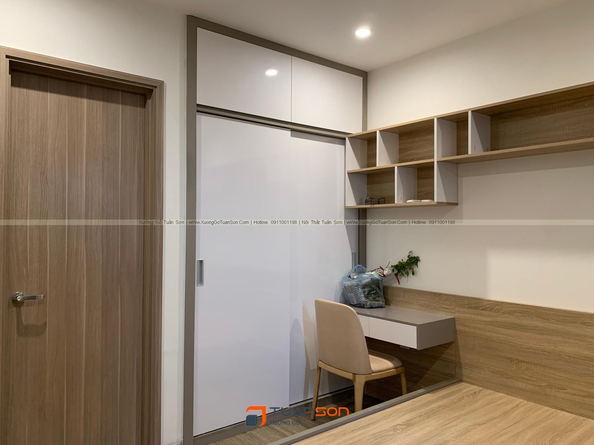 Bàn giao nội thất căn hộ 3PN S1.05-16 Vinhomes Ocean Park