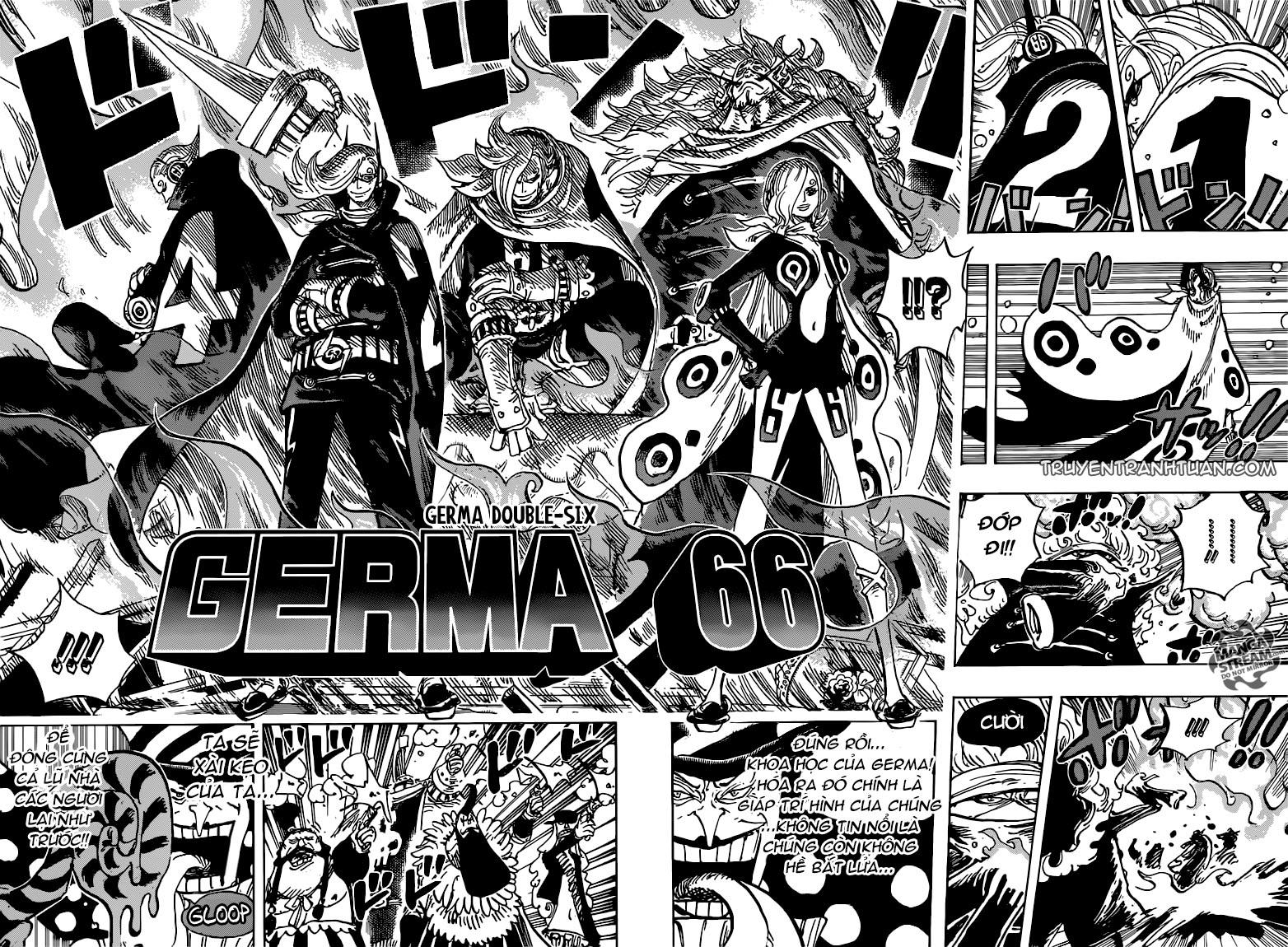One Piece - Đảo Hải Tặc trang 11