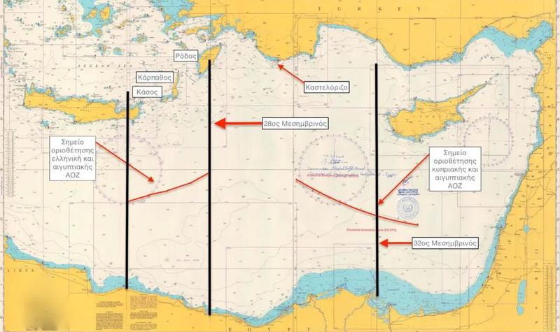 Η συμφωνία με την Αίγυπτο μπάζει από τρεις μεριές