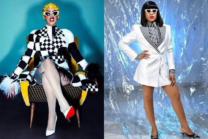 The Moment American Rapper, Cardi B Saved BBNaija Star, Erica From The Hands Of Twitter Troll (Photo)