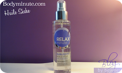 Body Minute : Huile Sèche Sublissime