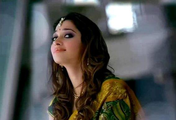 Tamanna in saree ad photoshoot ~ Cinediary Actress Gallery