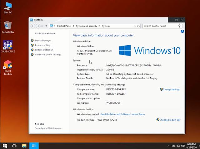 Windows 10 Potato Edition