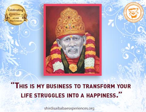 Business of Sai - Baba Idol Painting Image