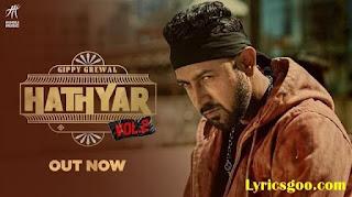 Hathyar 2 Lyrics – Gippy Grewal | Manpreet Kaur