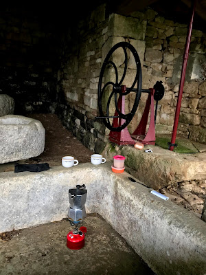 French Village Diaries covid-19 Christmas Lavoir Embourie Charente
