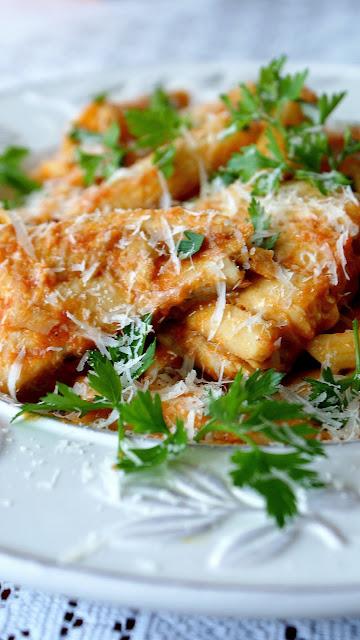 penne,makaron włoski,durum,dorsz,cucina italiana,penne con sugo di pomodoro,ricette facili,dania z makaronu,top blog kulinarny,z kuchni do kuchni