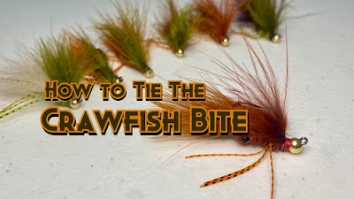 Crawfish Bite, Crawfish Fly, How to tie a fly, How to tie a crawfish fly, how to tie a crawfish bite, Bass Fly, Flies for Bass, Flies for Texas, Texas Flies, Fly Fishing Texas, Texas Fly Fishing, Texas Freshwater Fly Fishing, TFFF, Pat Kellner