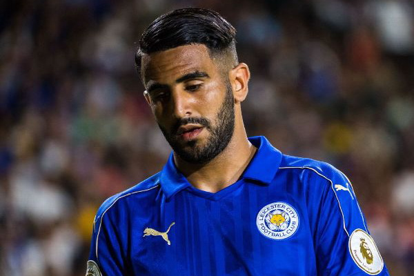 Transfer AS Roma Riyad Mahrez