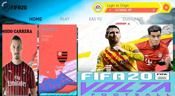 Volta FIFA 20 MOD Offline Update 2020 Android Download