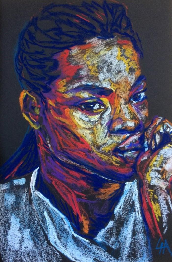 Французский художник. Lia FolieDouce