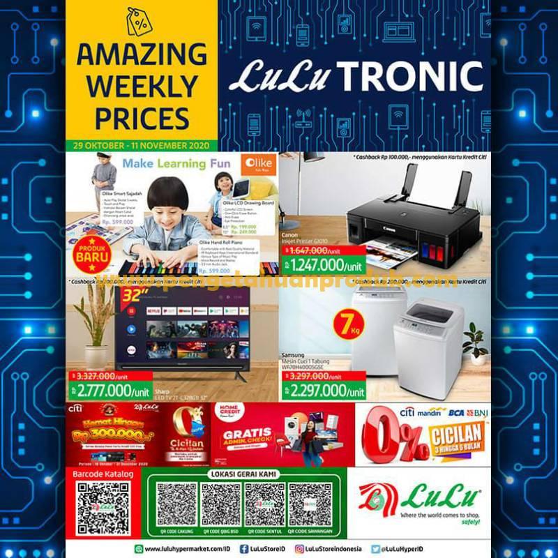 Katalog Promo LULU Supermarket Terbaru 29 Oktober - 11 November 2020