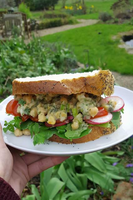 Chickpea 'Tuna' Sandwiches