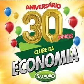 Cadastrar Promoção Saladão Supermercados 30 Anos Aniversário 2019 - Tvs e Vales-Compras